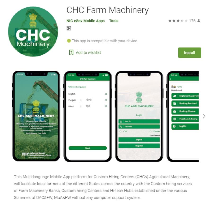 chc farm machinry