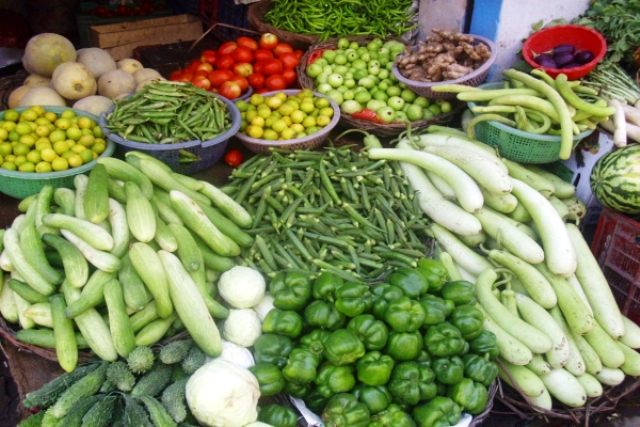 vegetables and ranchi