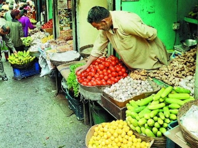 vegetables and price hike market