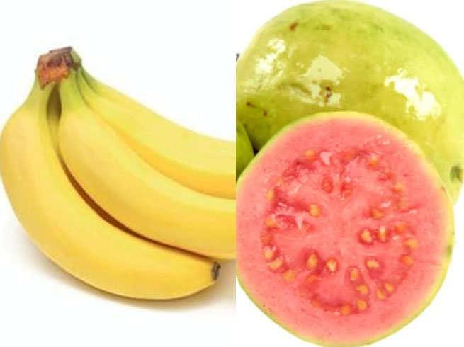 guava ana banana
