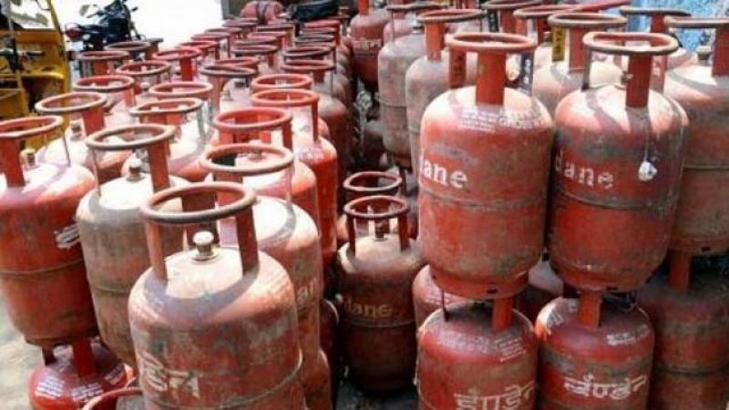 Gas cylinder price