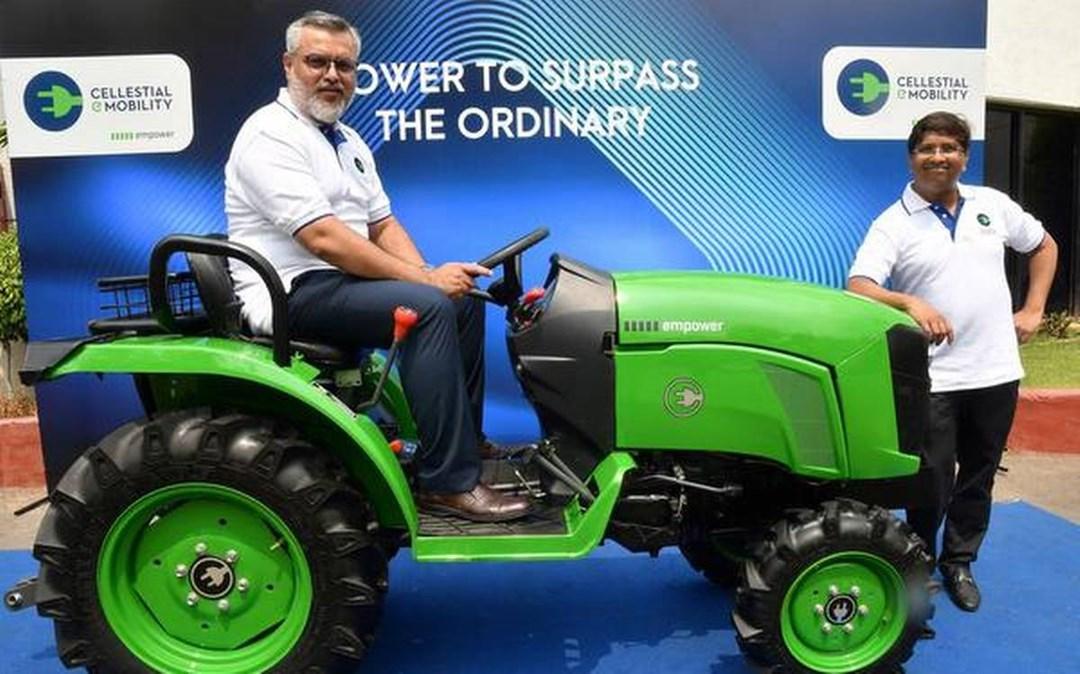 elertirc tractor