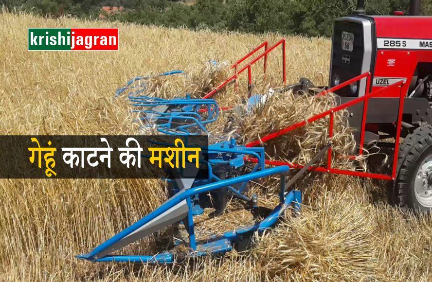 गेहूं की कटाई: रीपर बाइंडर मशीन से करें गेहूं की कटाई, होगी हजारों की बचत