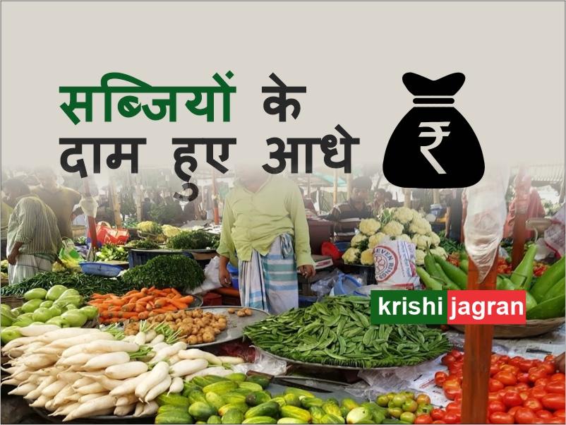 राज्य सरकार ने एक दिन में सब्जियों के दाम किए आधे