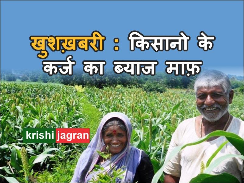 सरकार ने माफ़ किया किसानों के कर्ज का ब्याज
