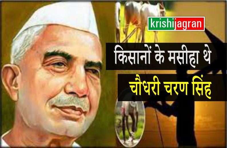 किसानों के मसीहा है पूर्व प्रधानमंत्री चौधरी चरण सिंह, गरीबों के लिए रखी अंत्योदय योजना की नींव