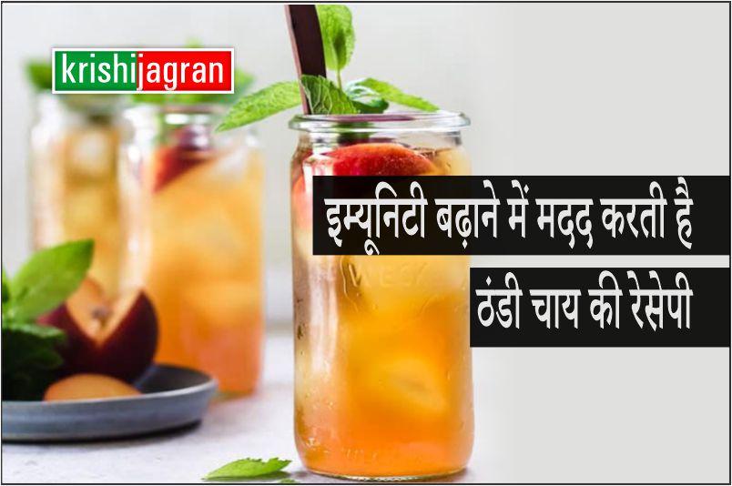 इम्यूनिटी बढ़ाने में मदद करती है ठंडी चाय की रेसेपी