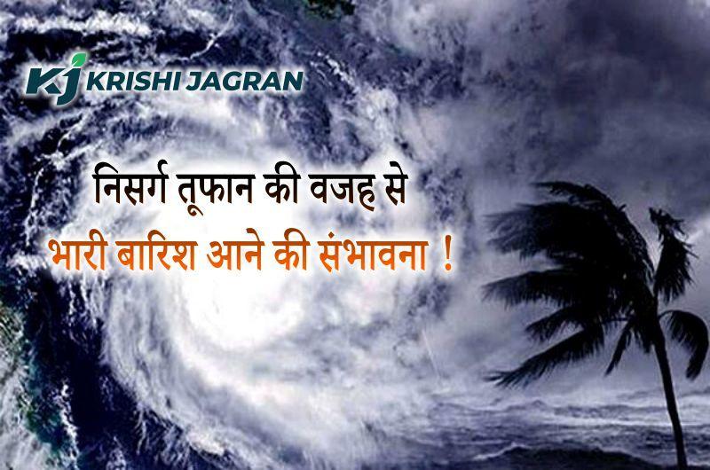 Cyclone Update:  देश के इन हिस्सों में निसर्ग तूफान ने दी दस्तक, भारी बारिश के साथ बाढ़ आने की संभावना !