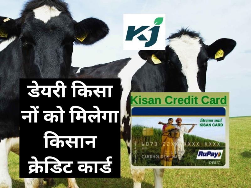 Kisan Credit Card: डेढ़ करोड़ डेयरी किसानों को मिलेगा किसान क्रेडिट कार्ड, पढ़ें पूरी खबर