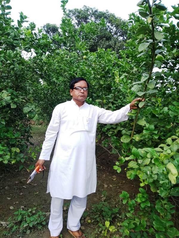Anand Mishar lemon Man