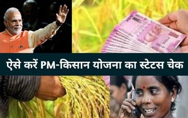 PM Kisan Scheme Status:  सरकार ने पीएम योजना की 2,000 रुपए की छ्ठी किस्त भेजी है या नहीं, मिनटों में करें चेक