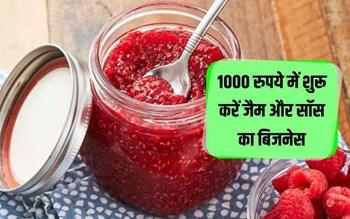 1000 रुपये में शुरू करें जैम और सॉस का बिजनेस, लाखों रुपये कमाए