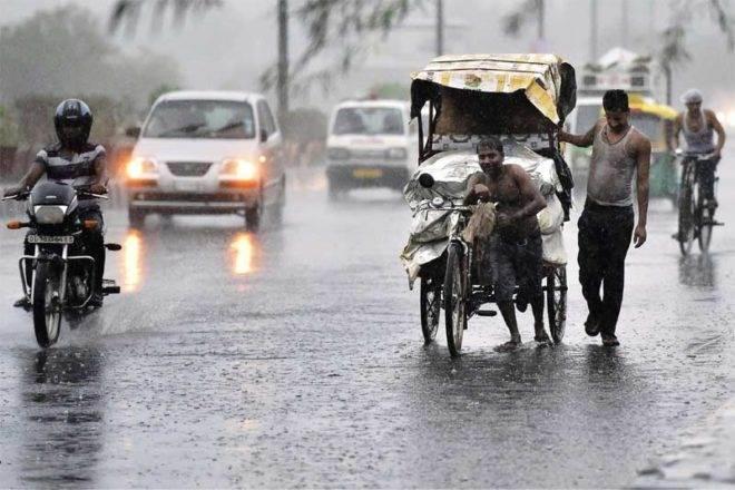 heavy rain in India