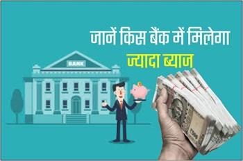 FD Interest Rates:  देश की इन 5 बैंकों में मिलेगा सबसे ज्यादा ब्याज, पढ़िए पूरी लिस्ट
