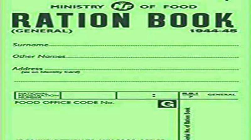 green ration card