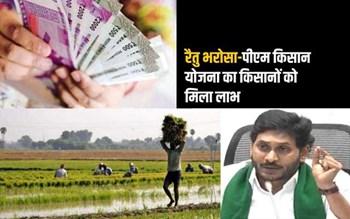 बड़ी खबर: लाखों किसानों के खातों में पहुंची YSR रैतु भरोसा योजना की राशि, किसानों में खुशी का माहौल