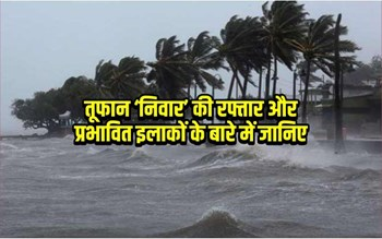 Nivar Cycloneupdate:चक्रवाती तूफान निवार ने समुद्री तट से टकराने के बाद कहां-कहां मचाई तबाही?