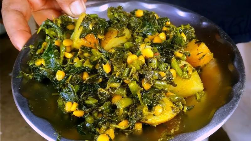 Chaulai Saag Recipe