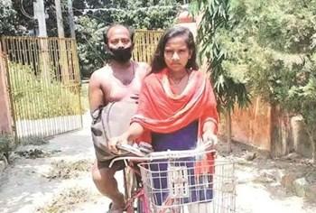 साईकल गर्ल ज्योति को मिलेगा राष्ट्रीय बाल सम्मान, पीएम मोदी से होगी वर्चुअल मुलाकात