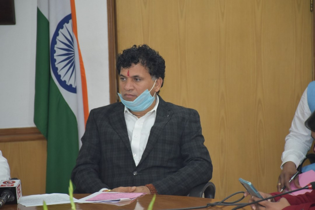 Union Minister Kailash Chaudhary