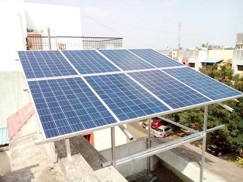SBI Rooftop Solar Plant