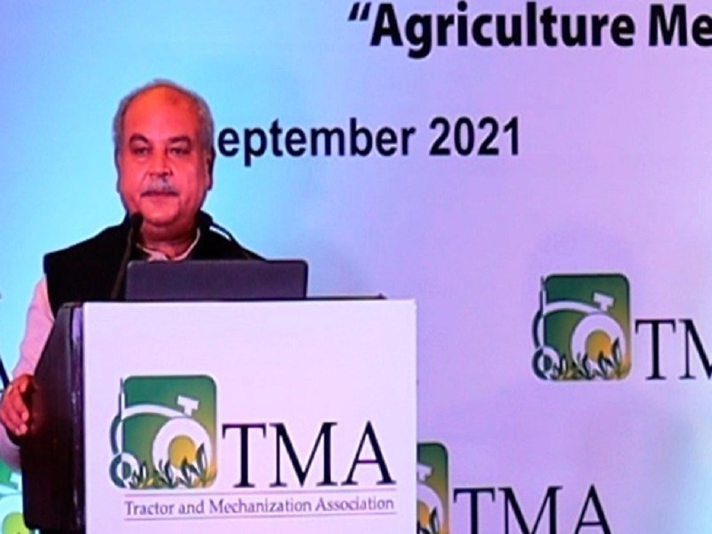 Agriculture Minister Narendra Sing Tomar