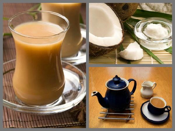 नारळाच्या दुधाचा चहा