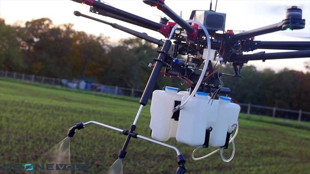 ड्रोन शेती